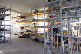 Trockenbau Lager Beispiel